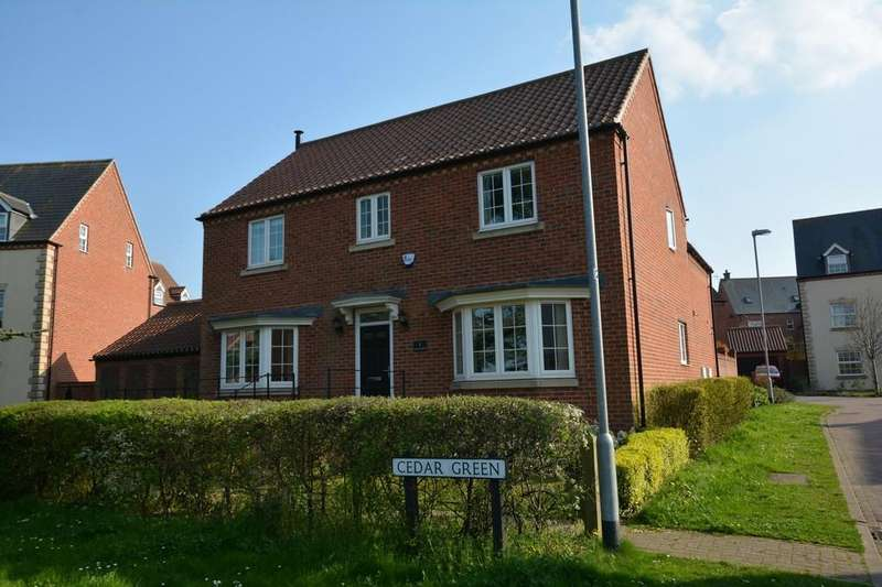 4 Bedrooms Detached House for sale in Cedar Green, Southwell