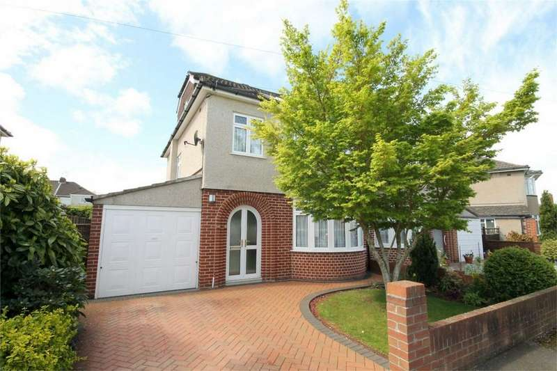 4 Bedrooms Semi Detached House for sale in Woodside Road, Downend, Bristol