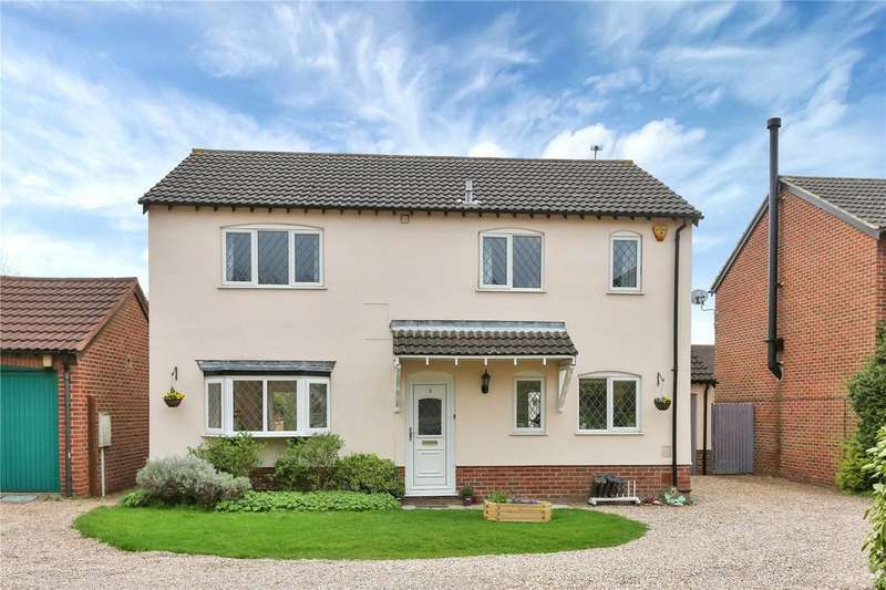 4 Bedrooms Detached House for sale in Orchard Way, Wymeswold, Loughborough