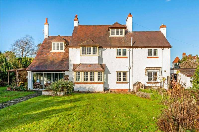 4 Bedrooms Detached House for sale in Druid Stoke Avenue, Stoke Bishop, Bristol, BS9