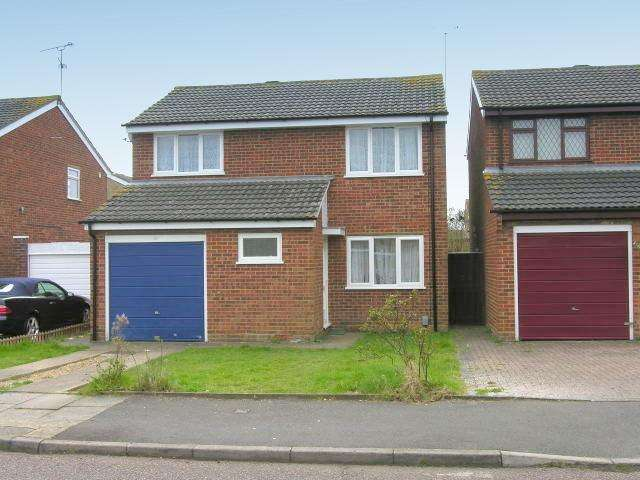 4 Bedrooms Detached House for sale in Bembridge Gardens, Luton, Bedfordshire, LU3 3SJ