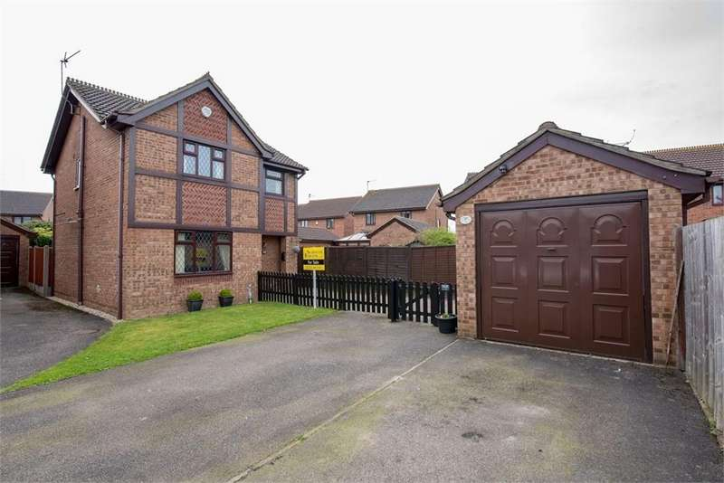 3 Bedrooms Detached House for sale in Tudor Drive, Boston, Lincolnshire