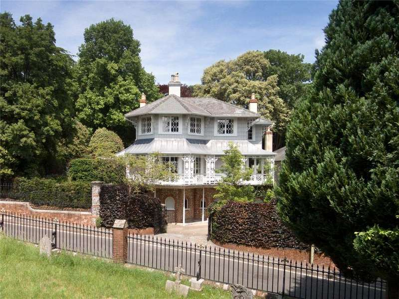 6 Bedrooms Detached House for sale in St. James Lane, Winchester, Hampshire, SO22