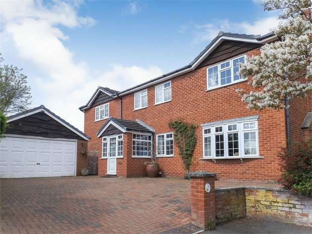 5 Bedrooms Detached House for sale in The Nurseries, Cymau, Wrexham
