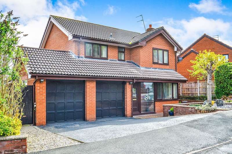 4 Bedrooms Detached House for sale in Ffordd Tan'r Allt, Abergele, LL22