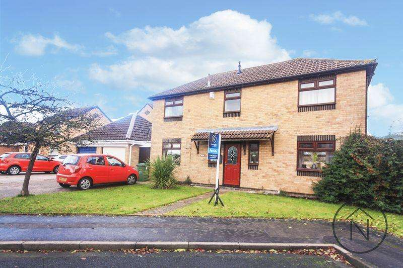 4 Bedrooms Detached House for sale in Hornsea Close, Billingham