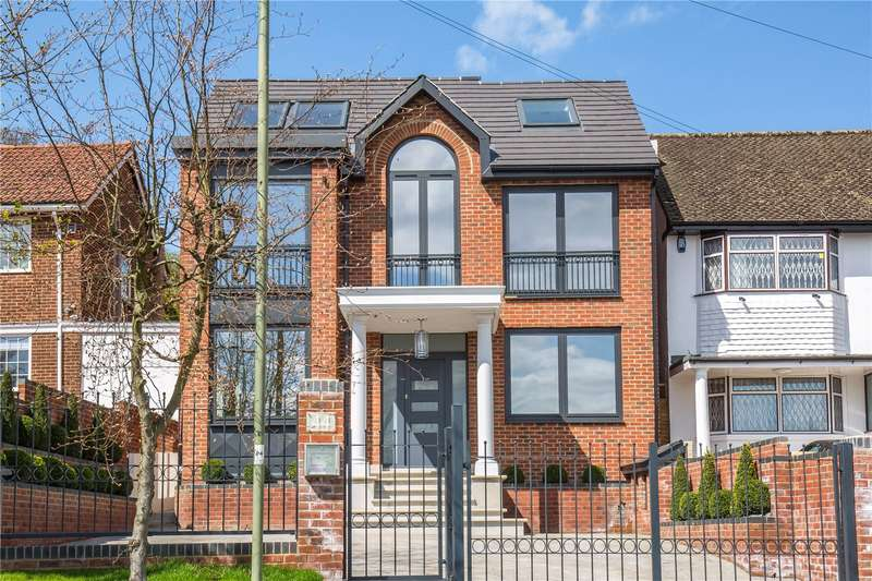 5 Bedrooms Detached House for sale in Wise Lane, Mill Hill, London, NW7