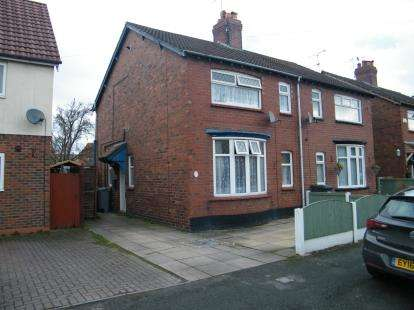 3 Bedrooms Semi Detached House for sale in Neville Street, Crewe, Cheshire