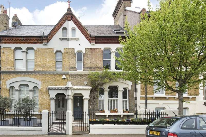 5 Bedrooms Terraced House for sale in Brodrick Road, London, SW17
