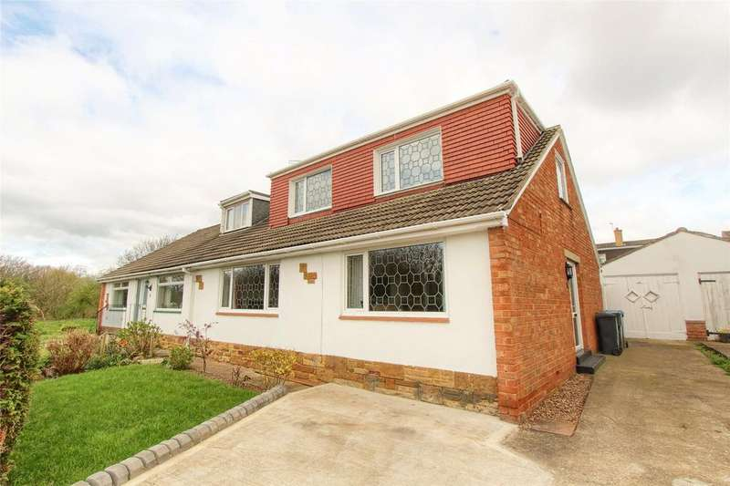 3 Bedrooms Semi Detached Bungalow for sale in Dell Close, Marton