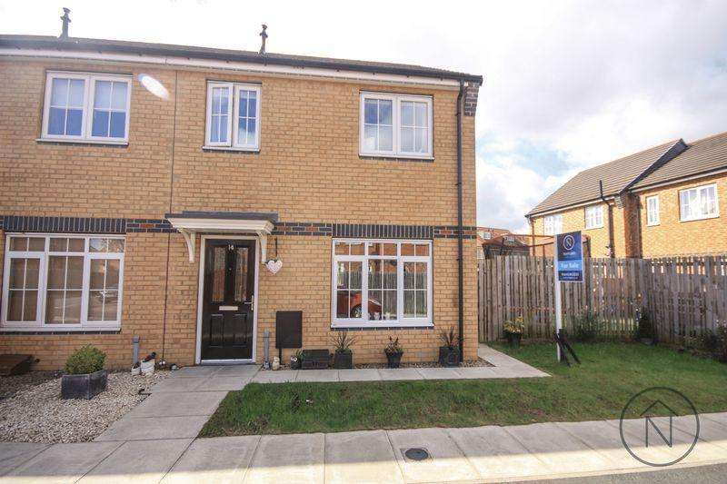 2 Bedrooms End Of Terrace House for sale in Dahlia Place, Billingham