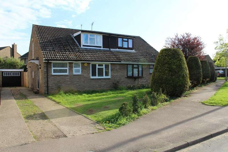 2 Bedrooms Semi Detached House for sale in Biggleswade Road, Upper Caldecote, Biggleswade, SG18