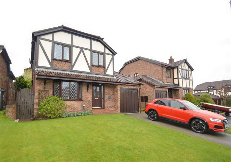 4 Bedrooms Detached House for sale in Barnside Way, Macclesfield