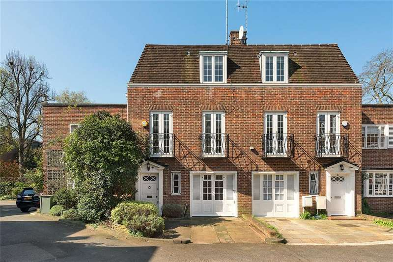 4 Bedrooms Semi Detached House for sale in Abbotsbury Close, Holland Park, London