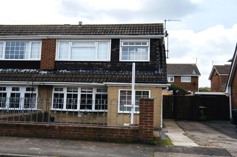 3 Bedrooms Semi Detached House for sale in Meath Way, Guisborough, TS14