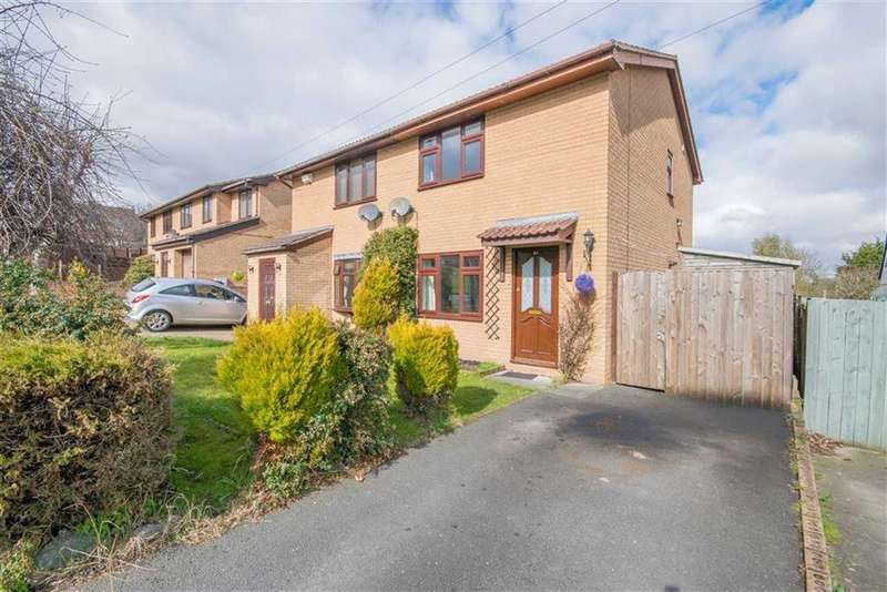 2 Bedrooms Semi Detached House for sale in Machynlleth Way, Connah's Quay, Deeside