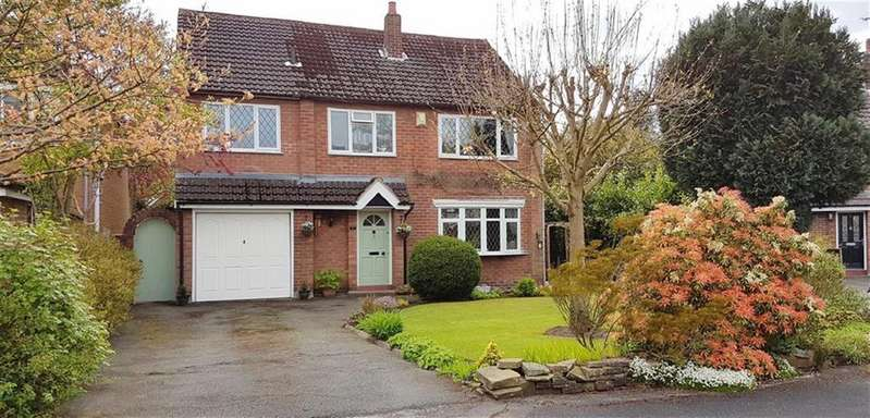 4 Bedrooms Detached House for sale in College Close, Pownall Park, Wilmslow