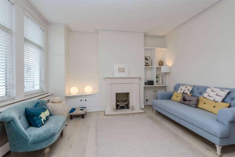 2 Bedrooms Maisonette Flat for sale in Brookwood Road, Southfields, London, SW18