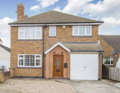 3 Bedrooms Detached House for sale in Holyoake Street, Enderby, Leicester, Leicestershire