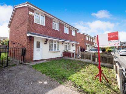 2 Bedrooms Semi Detached House for sale in Marlborough Road, Salford, Greater Manchester