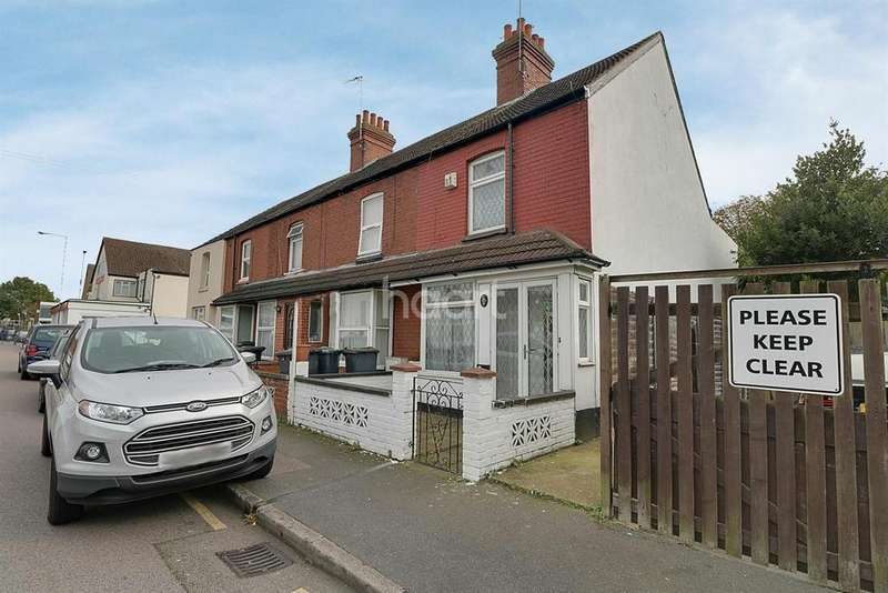 3 Bedrooms End Of Terrace House for sale in Mostyn Road, LU3
