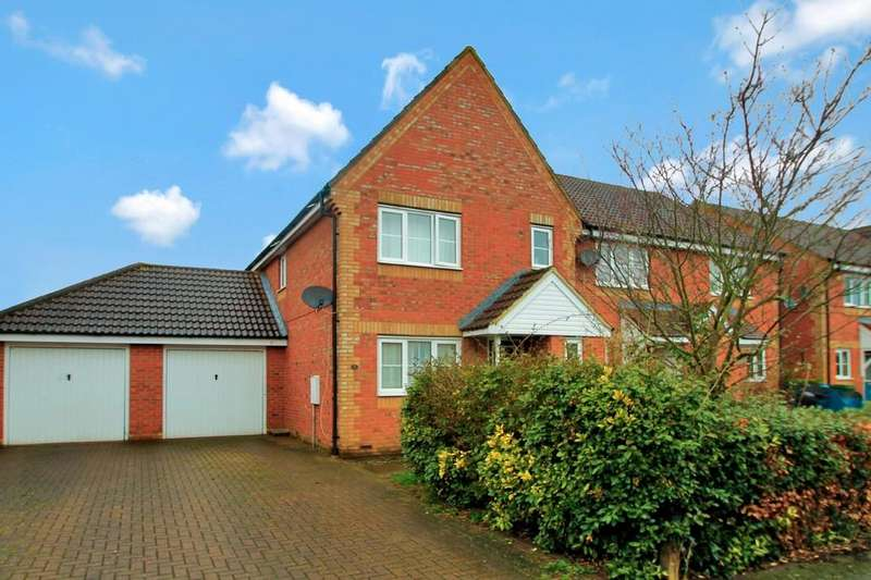 3 Bedrooms End Of Terrace House for sale in Bond Close, Oakwood Park, Aylesbury