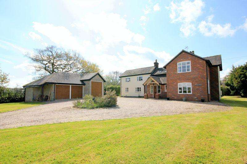 5 Bedrooms Detached House for sale in Hilderstone, Stone