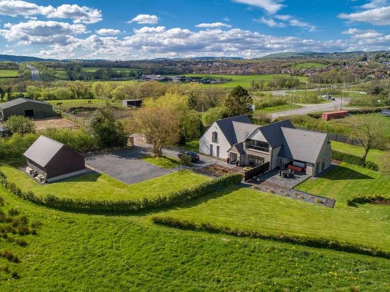5 Bedrooms Property for sale in Heol Creigiau, Efail Isaf, Pontypridd, Mid Glamorgan