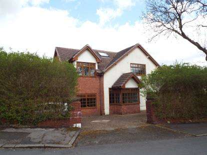 4 Bedrooms Detached House for sale in Woodhill Drive, Prestwich, Manchester, Greater Manchester