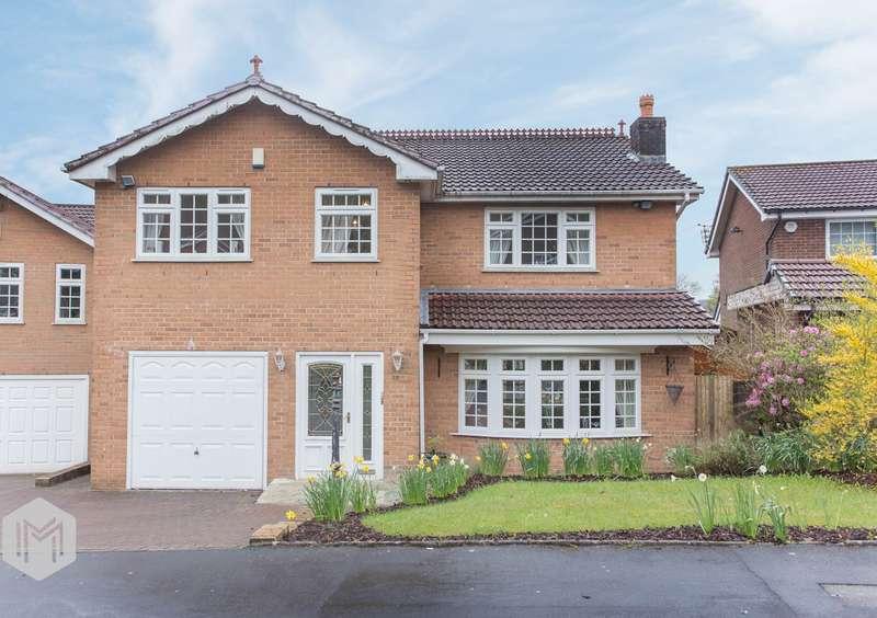 4 Bedrooms Detached House for sale in Higher Dunscar, Egerton, Bolton, BL7