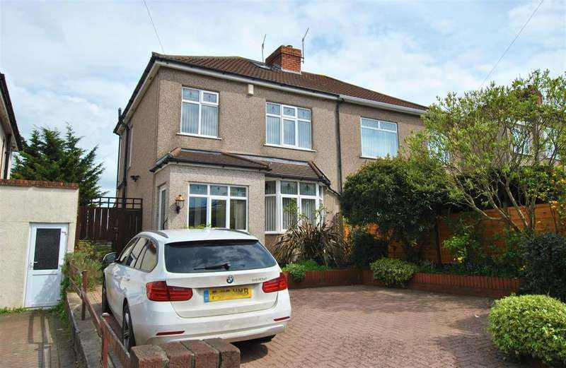 3 Bedrooms Semi Detached House for sale in Wells Road, Whitchurch, Bristol