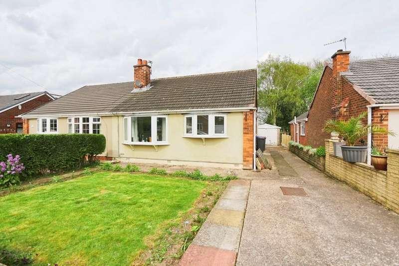 2 Bedrooms Semi Detached Bungalow for sale in 9 Helston Close, Irlam