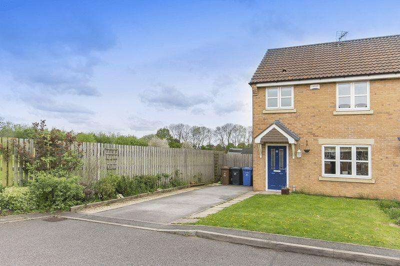 3 Bedrooms End Of Terrace House for sale in KNIGHTS ROAD, CHELLASTON