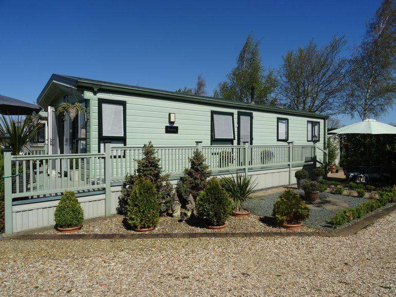 2 Bedrooms Caravan Mobile Home for sale in Heron Cottage, Frostley Gate, Holbeach