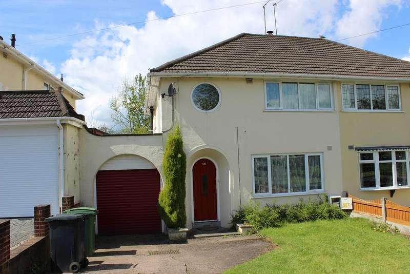 3 Bedrooms Semi Detached House for sale in Huntingtree Road, HALESOWEN, B63
