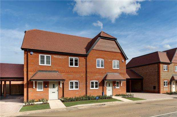 3 Bedrooms Semi Detached House for sale in Eldridge Park, Bell Foundry Lane, Wokingham