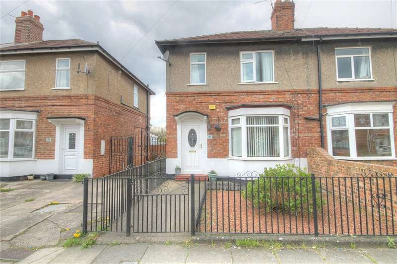 2 Bedrooms Semi Detached House for sale in The Stray, Darlington, DL1