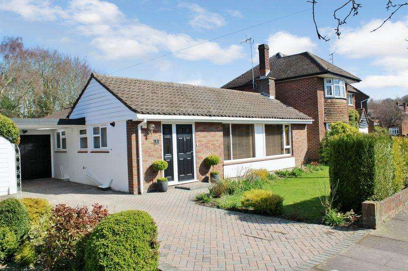 3 Bedrooms Detached Bungalow for sale in Coombe Drive, West Dunstable