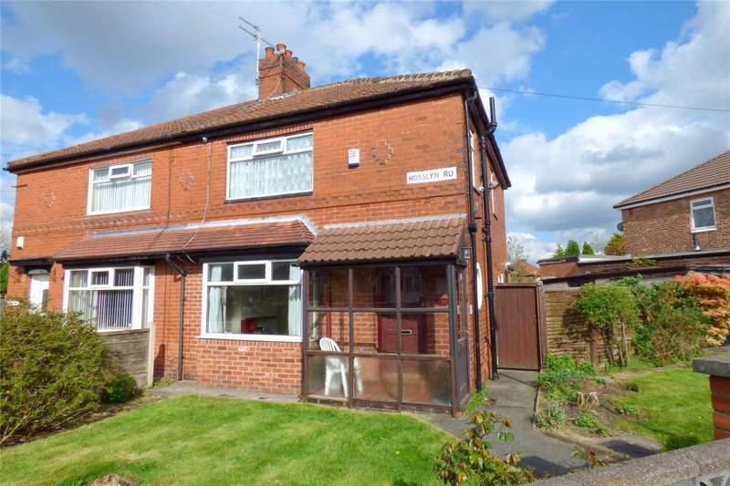 3 Bedrooms Semi Detached House for sale in Rosslyn Road, Moston, Manchester, M40