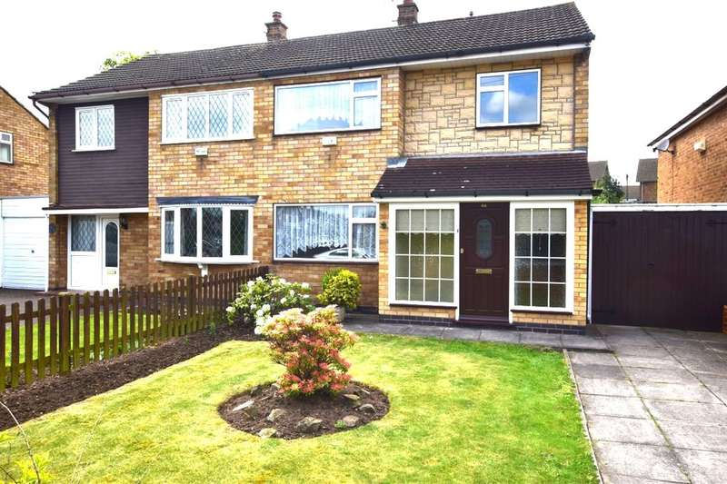 3 Bedrooms Semi Detached House for sale in Blenheim Road, Birstall, Leicester, LE4