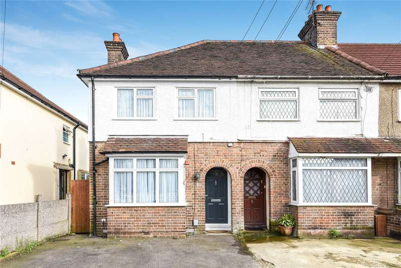 3 Bedrooms End Of Terrace House for sale in Kelmscott Close, Watford, Hertfordshire, WD18