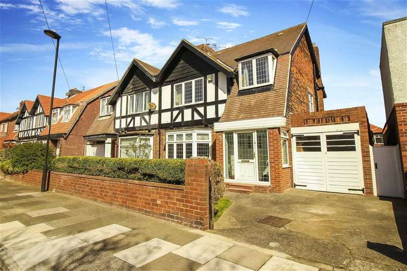 4 Bedrooms Semi Detached House for sale in Briardene Crescent, Whitley Bay, Tyne And Wear