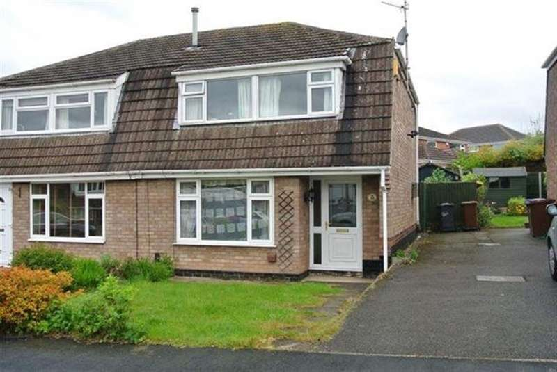 3 Bedrooms Semi Detached House for rent in Hadstock Close, Sandiacre, NG10 7LQ