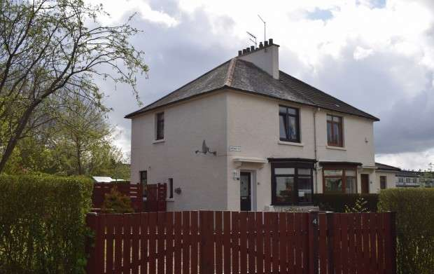 2 Bedrooms Semi Detached House for sale in Arisaig Place, Mosspark, G52