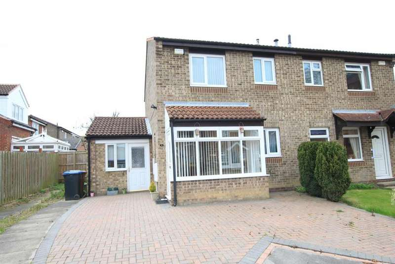 3 Bedrooms Semi Detached House for sale in Fawn Close, Woodham, Newton Aycliffe