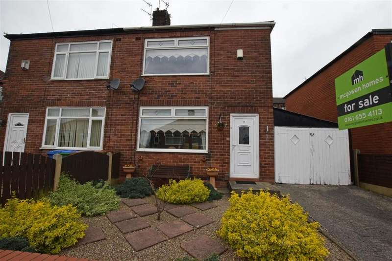 2 Bedrooms Semi Detached House for sale in Wagstaffe Street, Middleton, Manchester