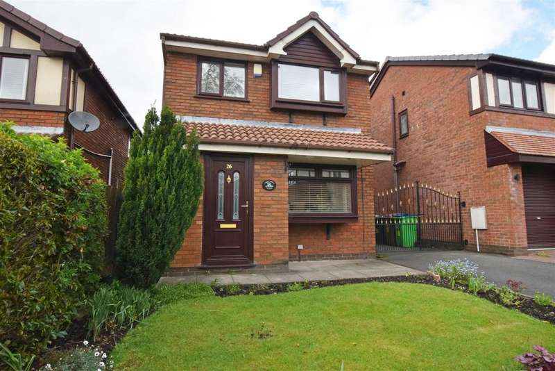 3 Bedrooms Detached House for sale in Abbotsford Drive, Middleton, Manchester