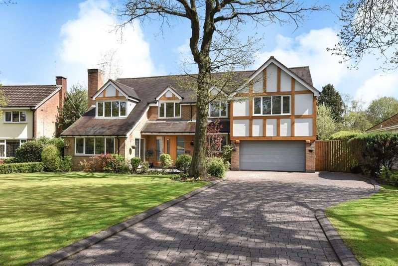 5 Bedrooms Detached House for sale in Woodside Way, Solihull