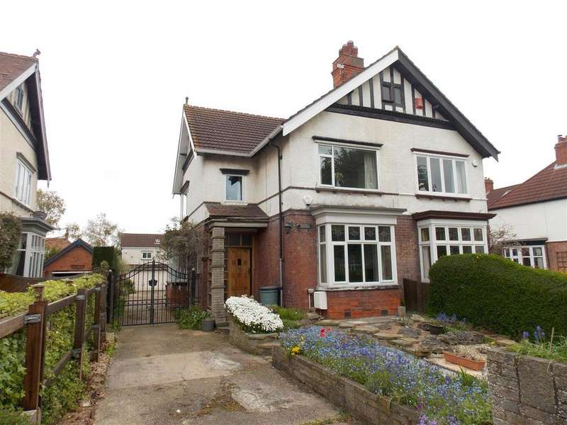4 Bedrooms Semi Detached House for sale in Weelsby Road, Grimsby, DN32 0QA