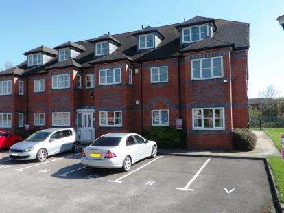 2 Bedrooms Flat for sale in Signal Court, Lightfoot Street, Hoole, Chester, CH2